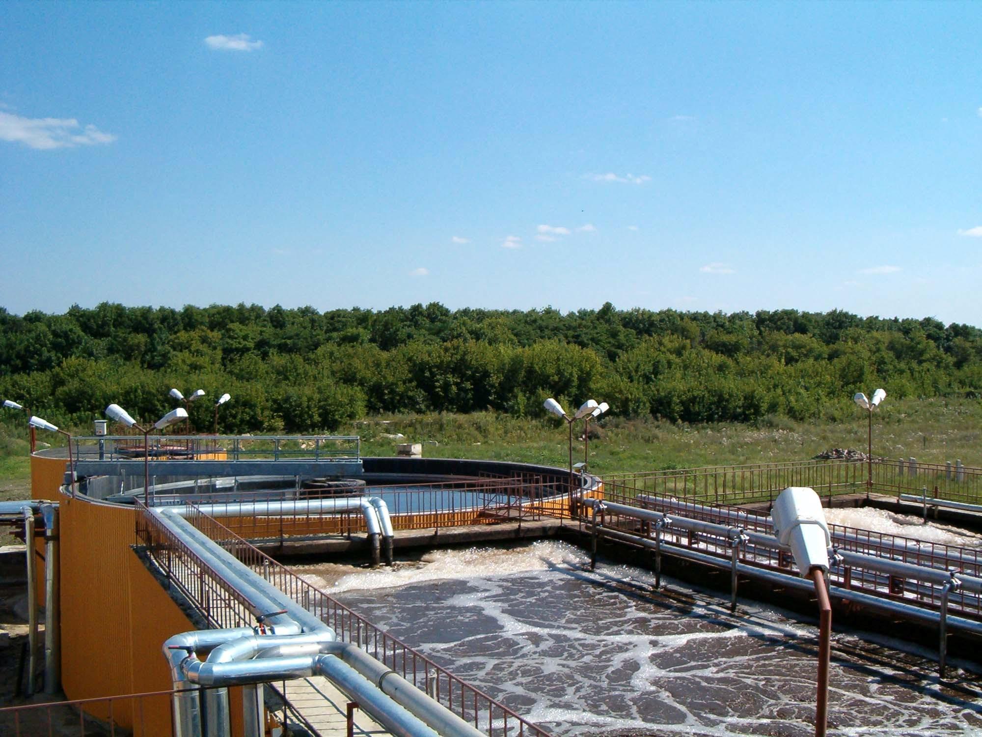 промышленная очистка сточных вод